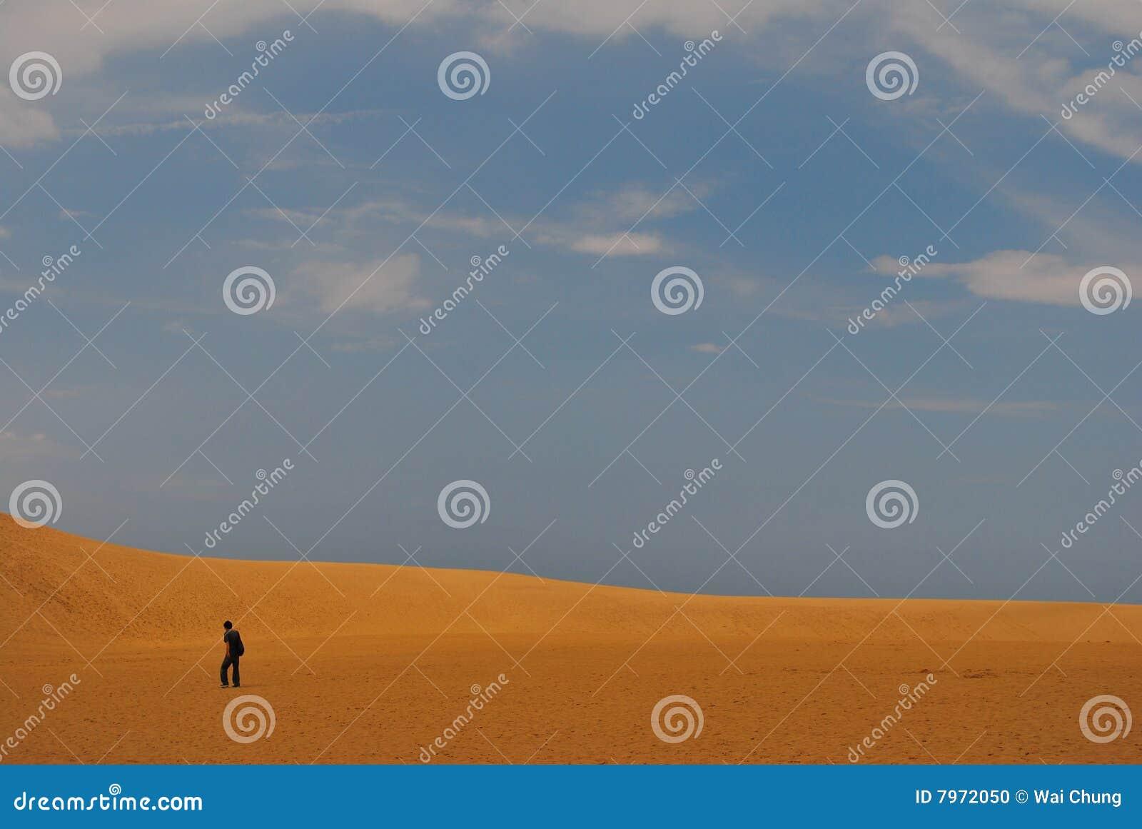 Homme de désert
