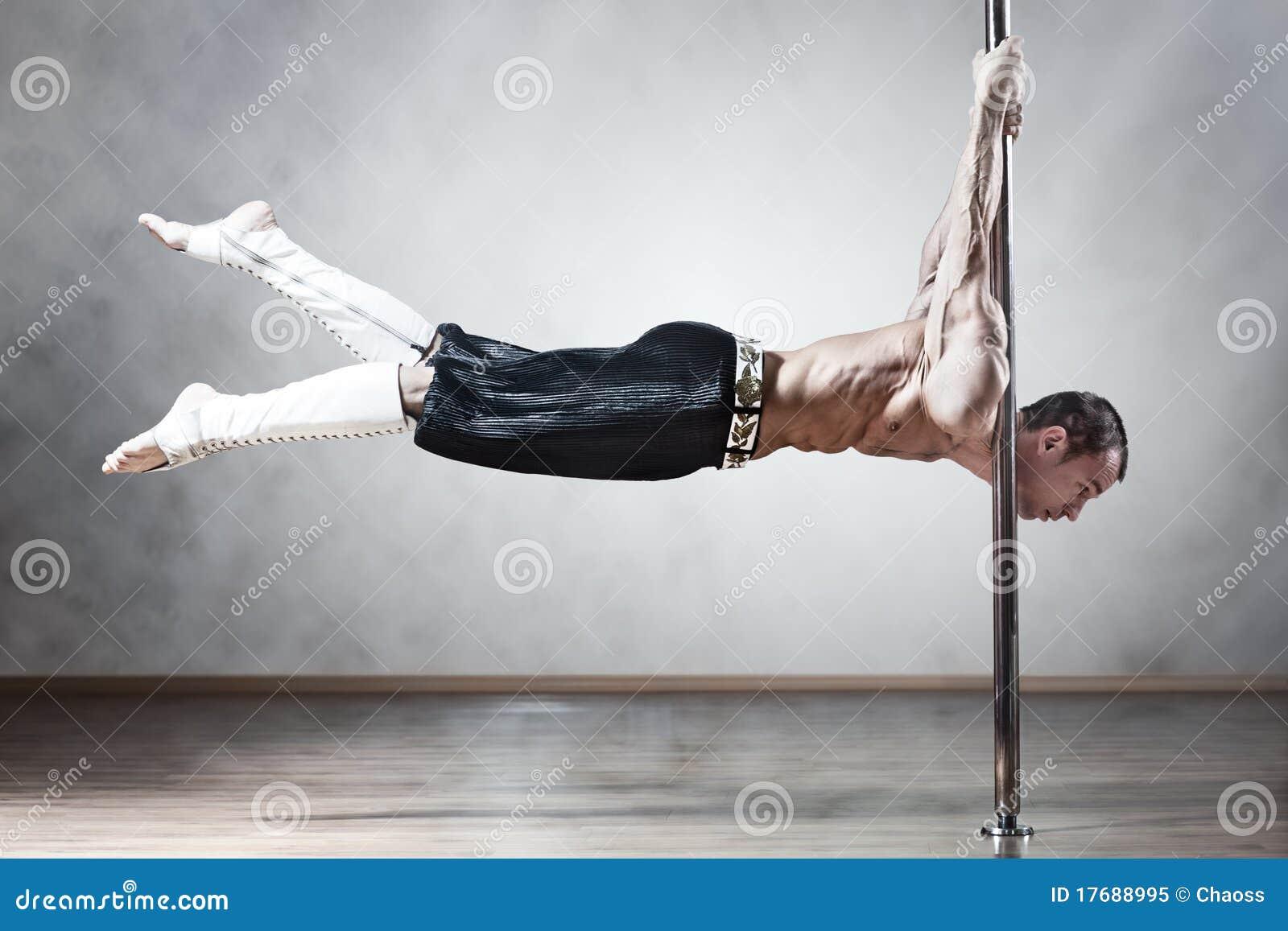 Homme de danse de Pôle