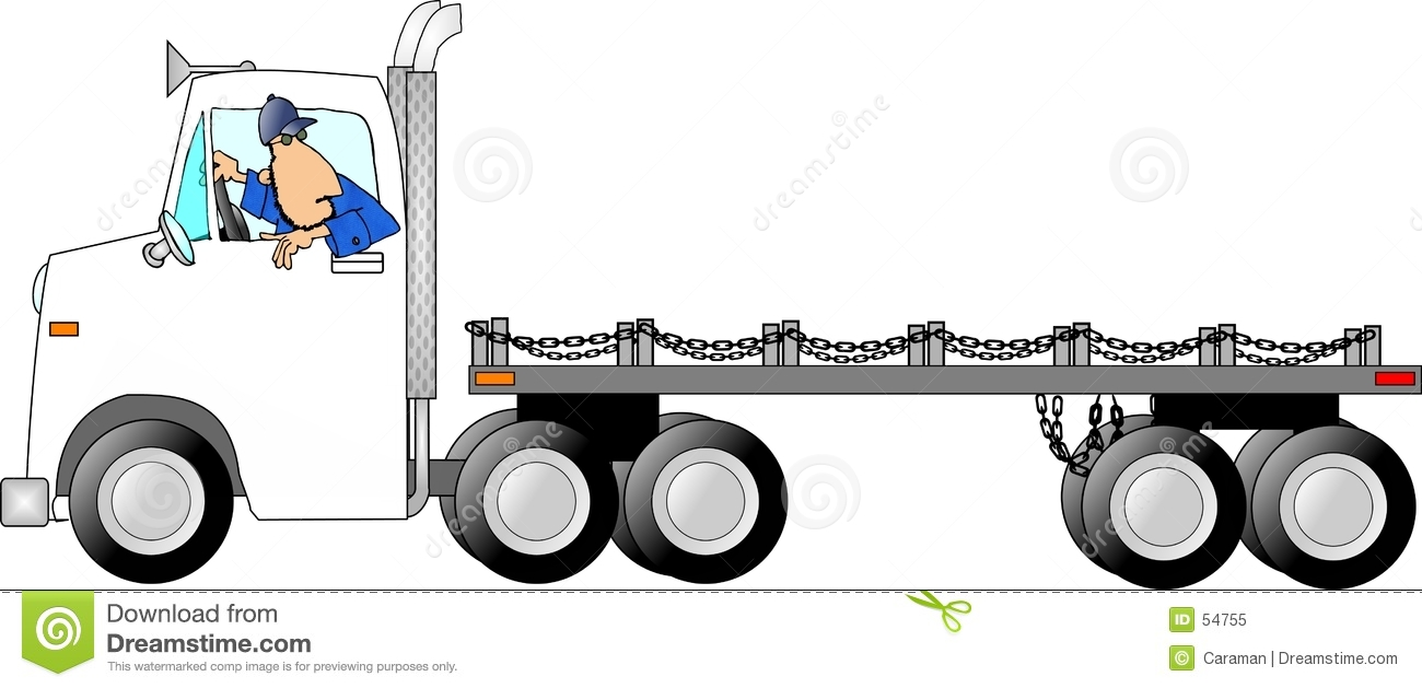 Download Homme de drivin de camion illustration stock. Illustration du gestionnaire - 54755