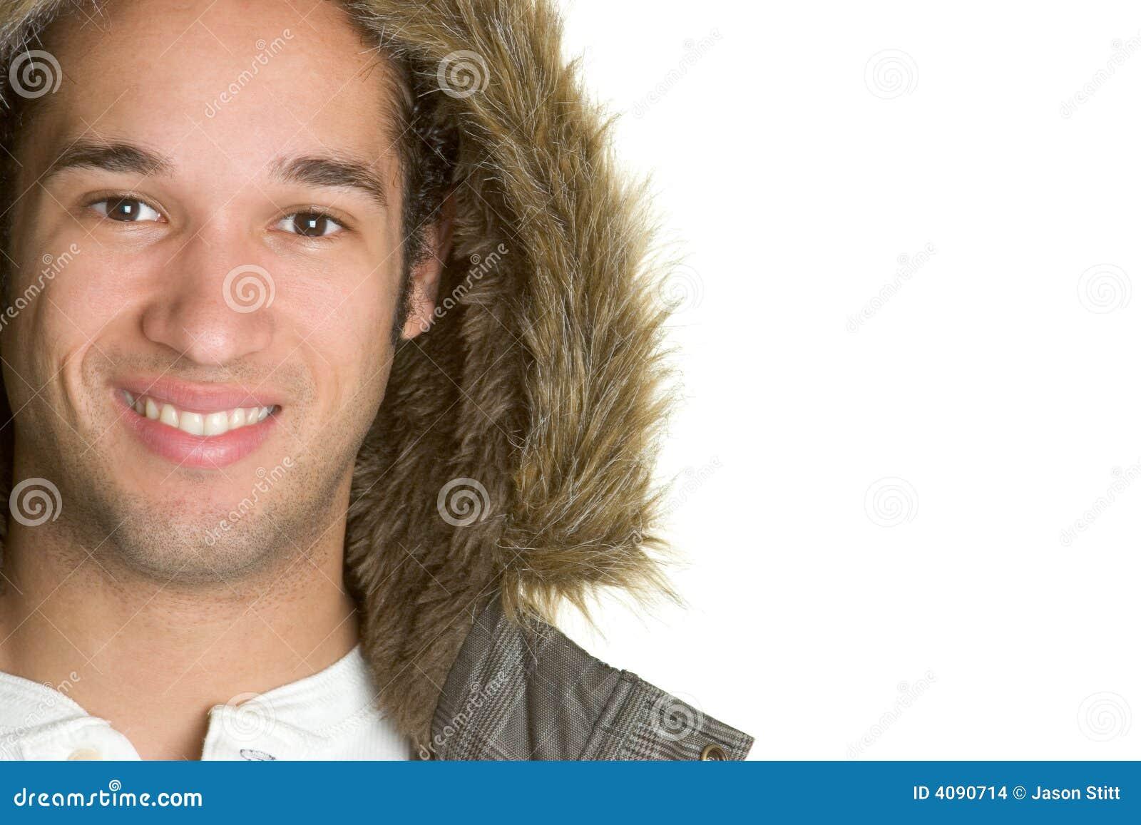 Homme de jupe de l hiver