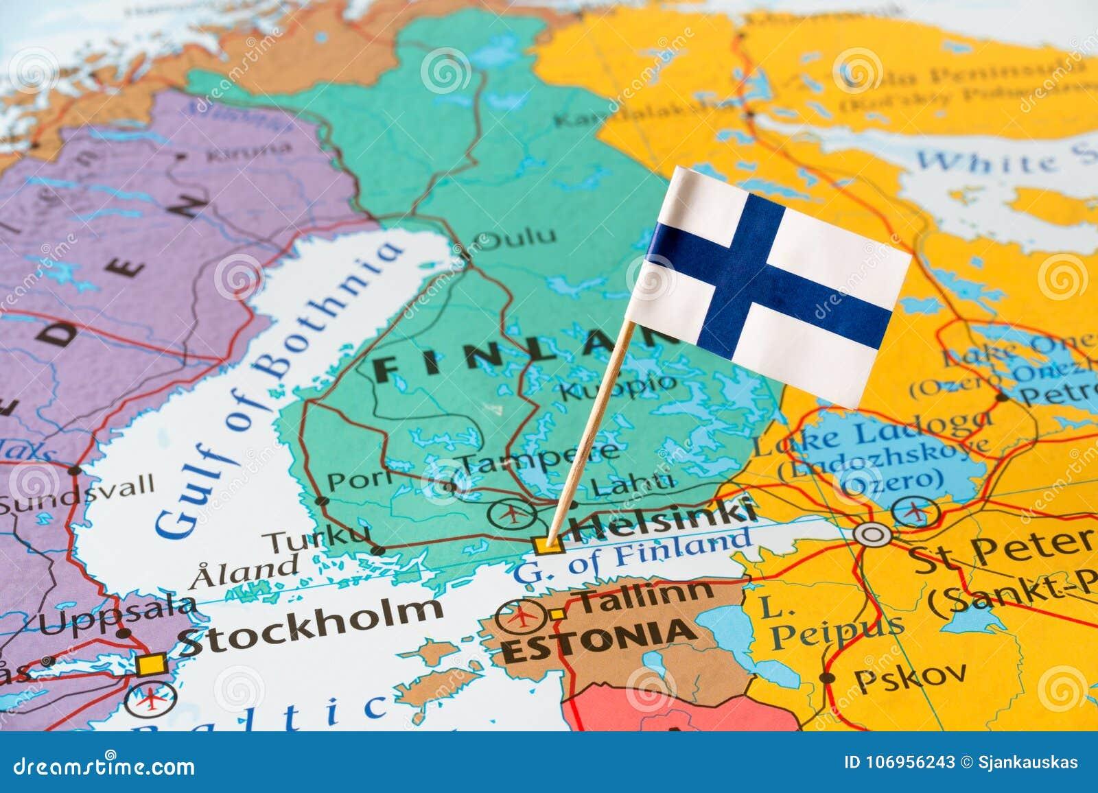 Carte Finlande Plan Finlande Routardcom