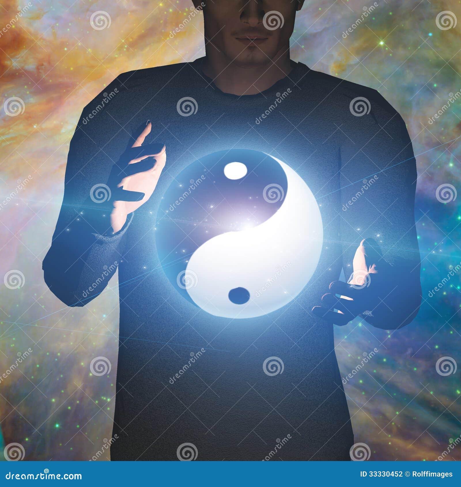 Homme de Yin Yang Star