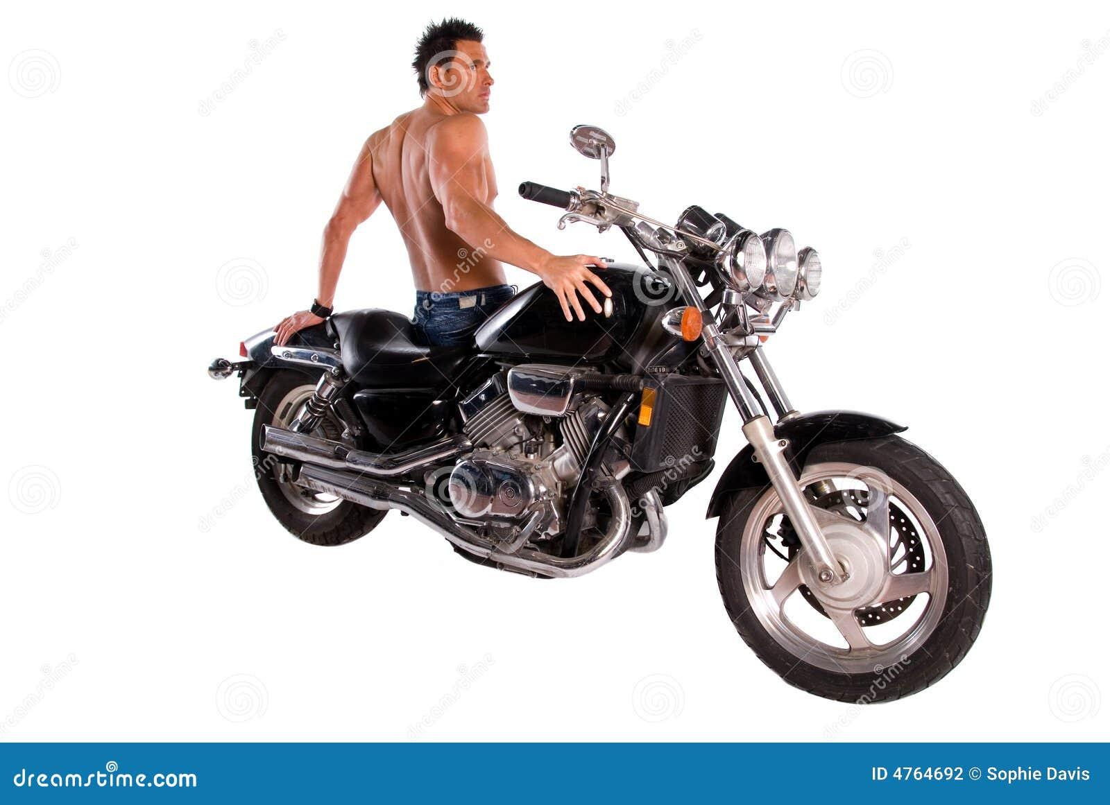 Homme Sexy Harley Davidson
