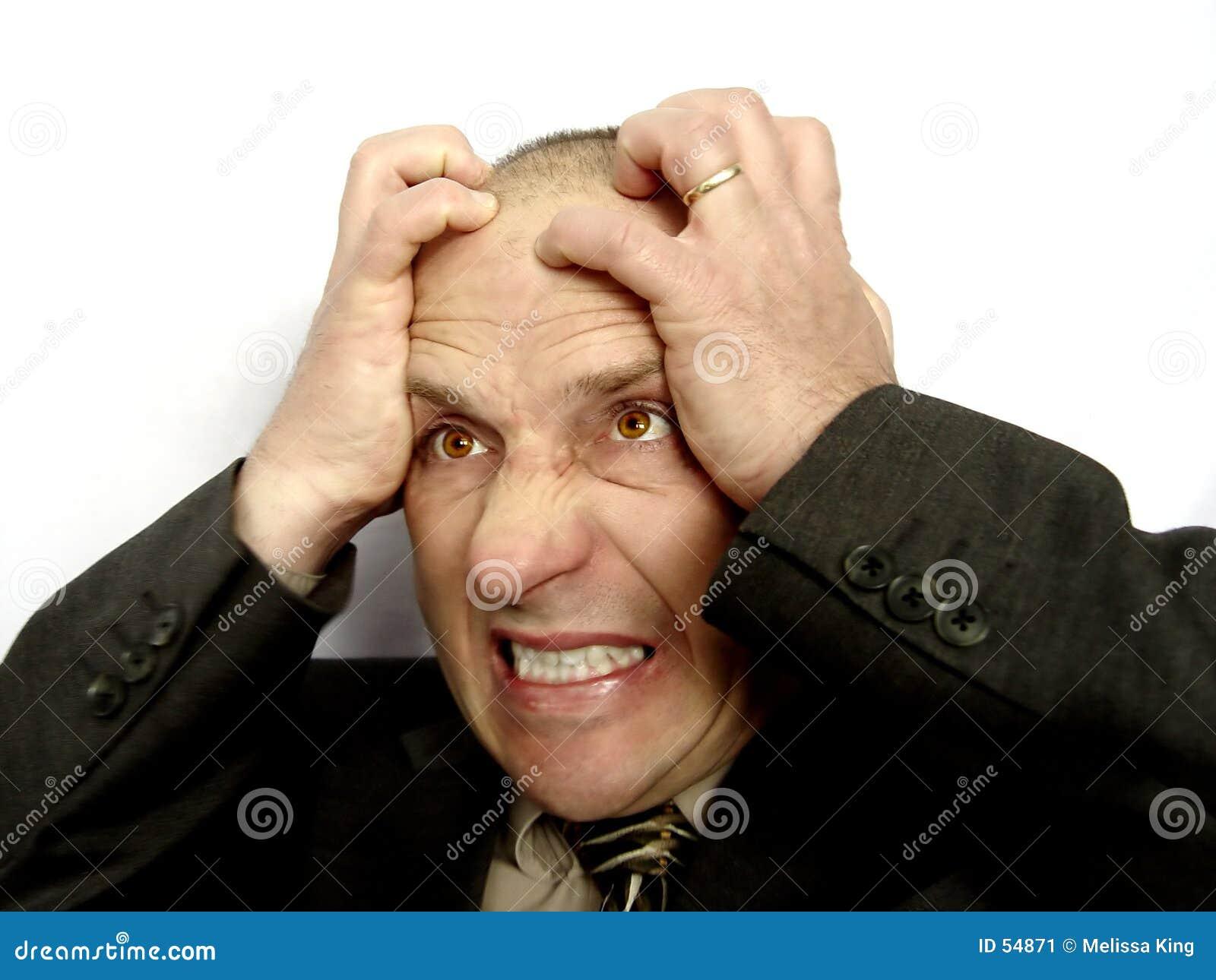 Download Homme marié frustrant image stock. Image du affaires, éléments - 54871