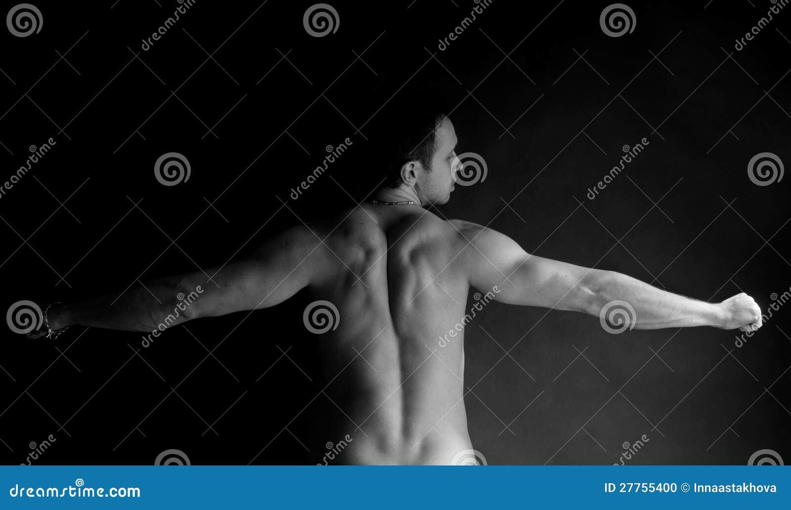 Homme musculaire de Portet
