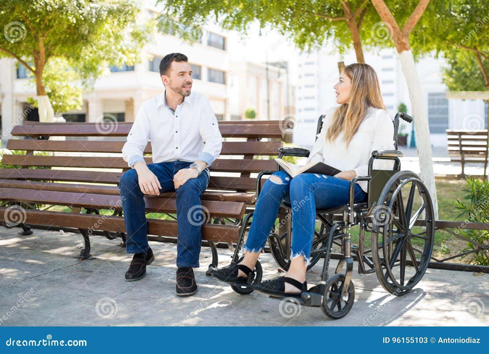 femme en chaise roulante cherche homme