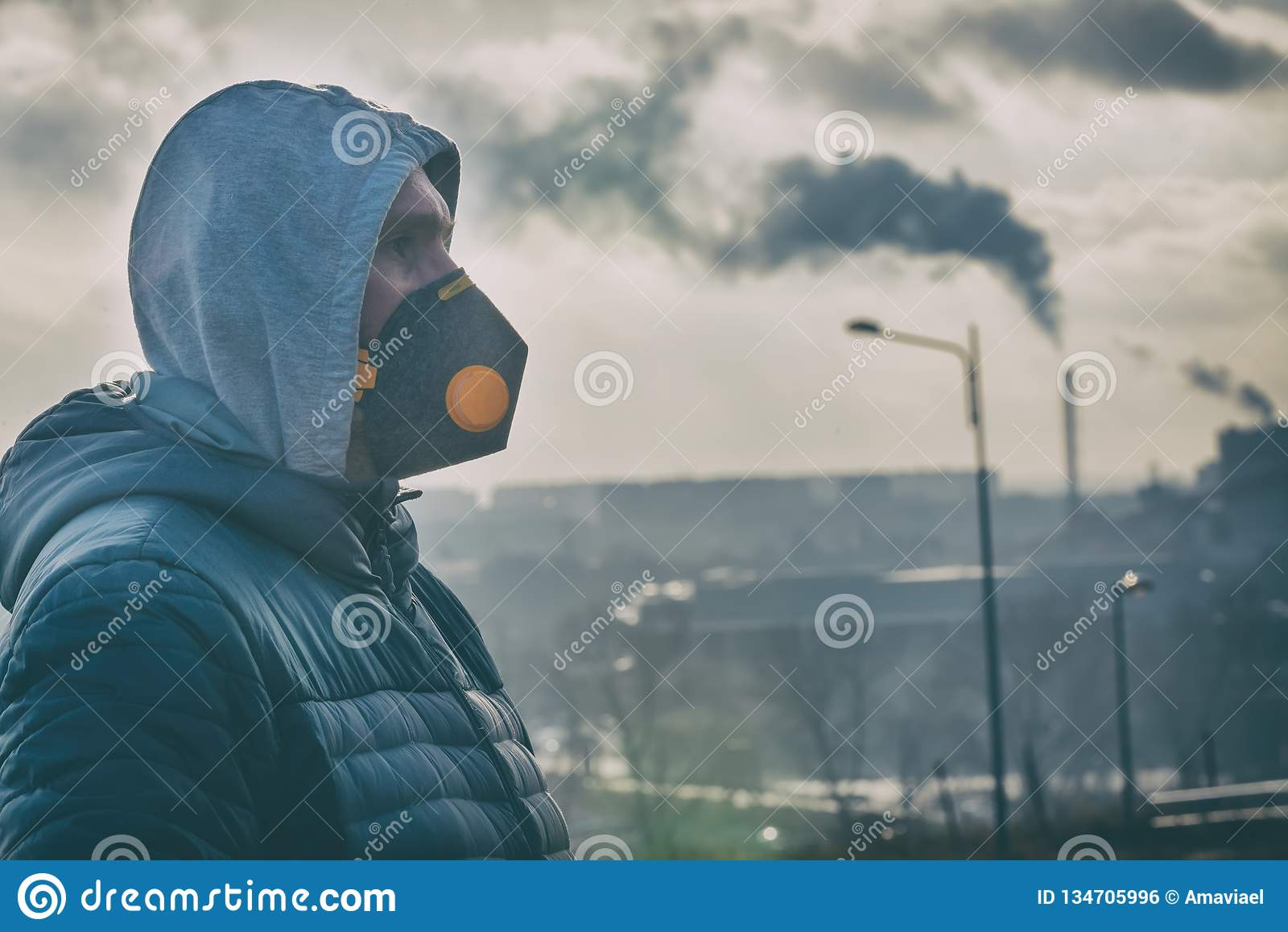 masque anti pollution homme