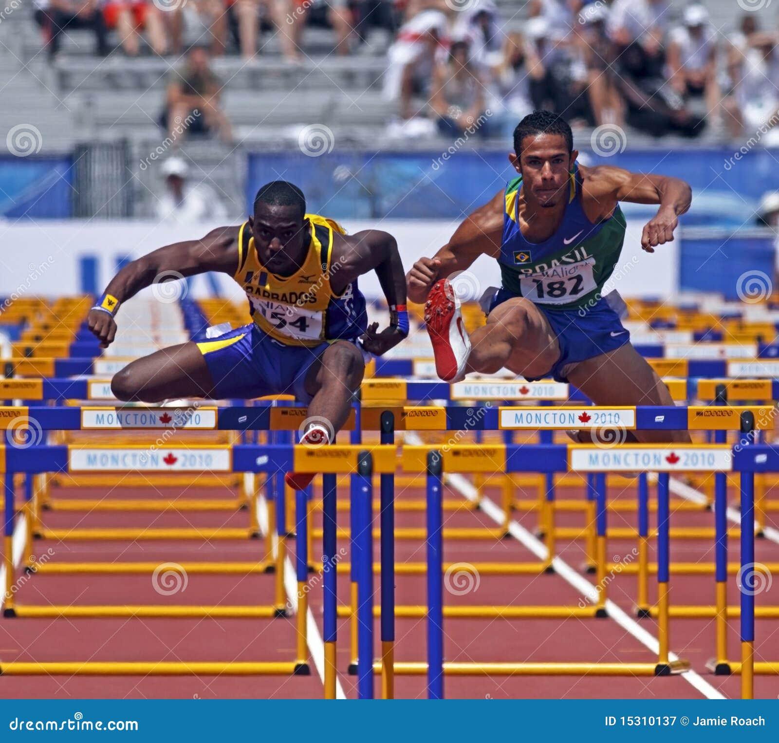 Hommes Barbade Brésil d obstacles de 110 mètres
