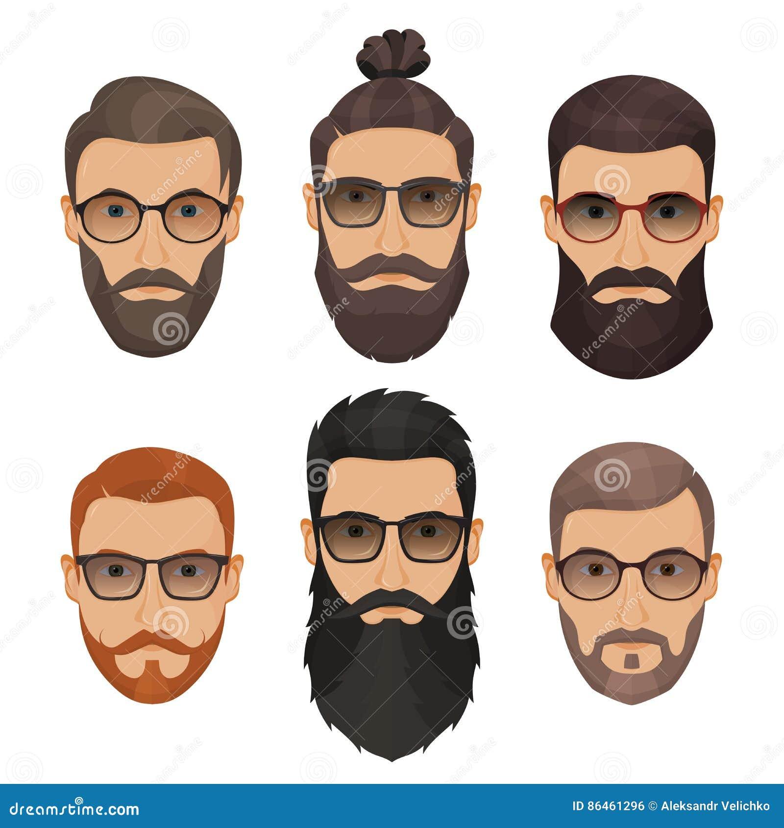 différentes coiffures