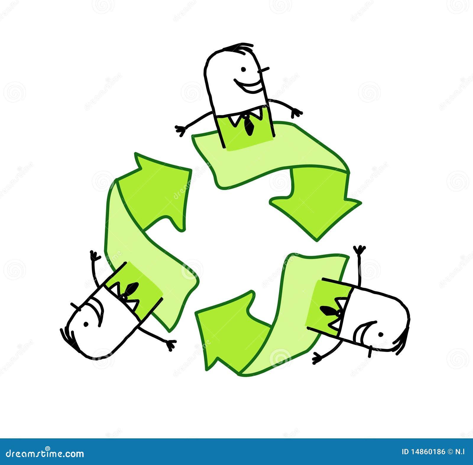 Hommes d affaires et écologie