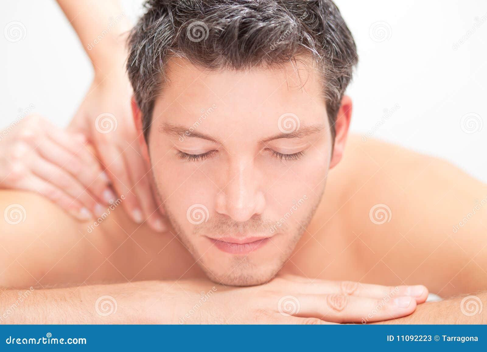 Hommes de massage