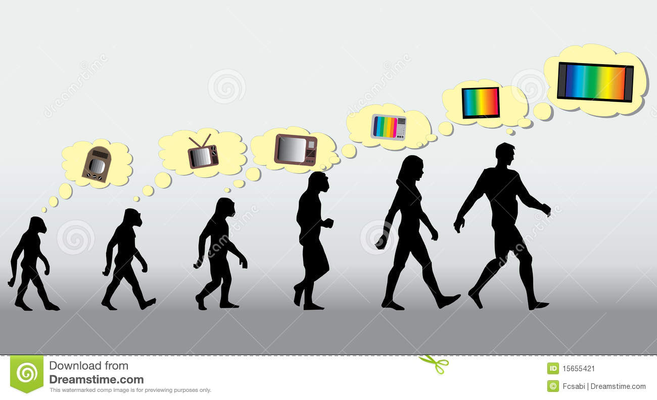 Sapiens TV Stock Image - Image: 15655421