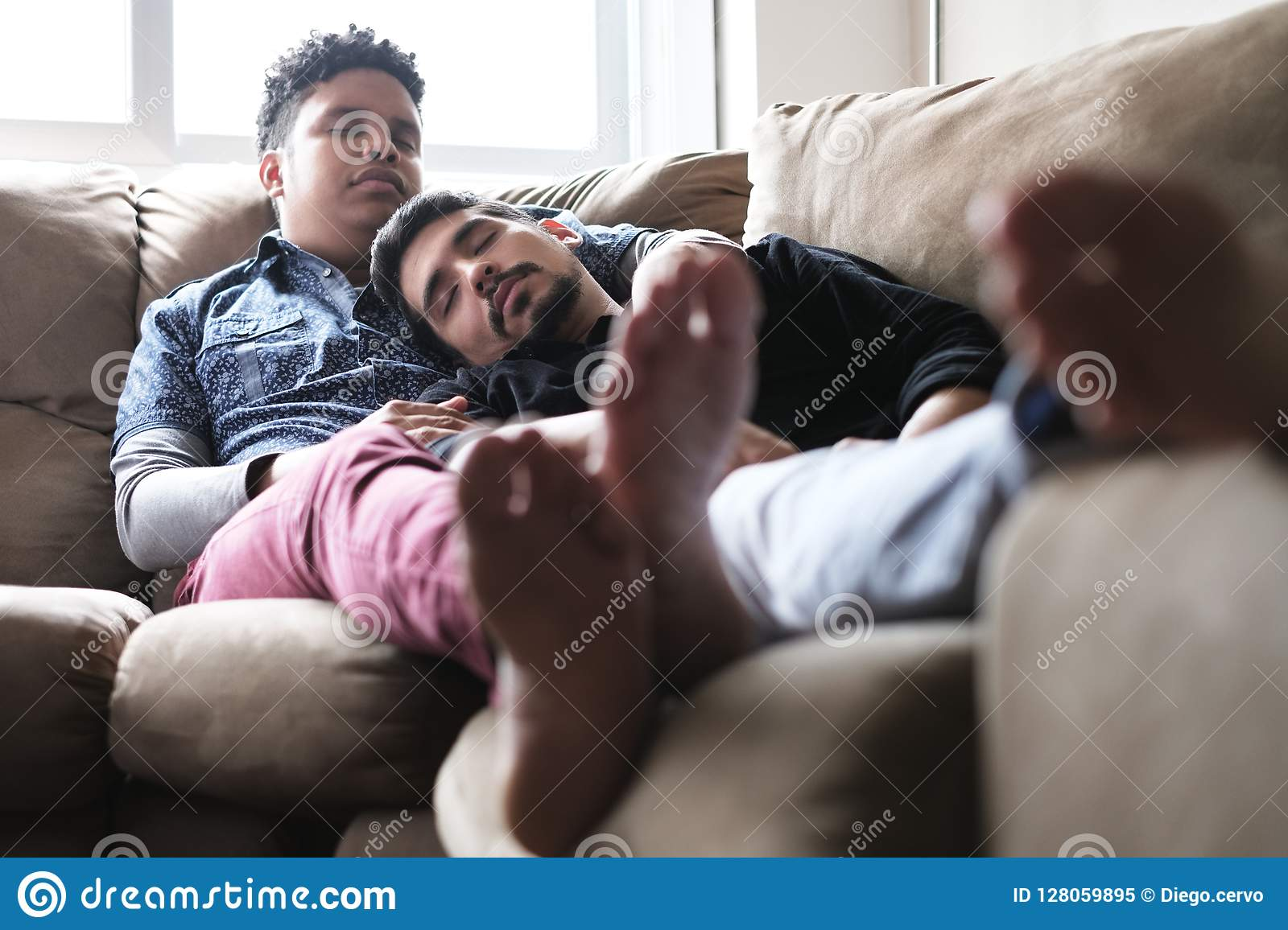 Sleeping men gay