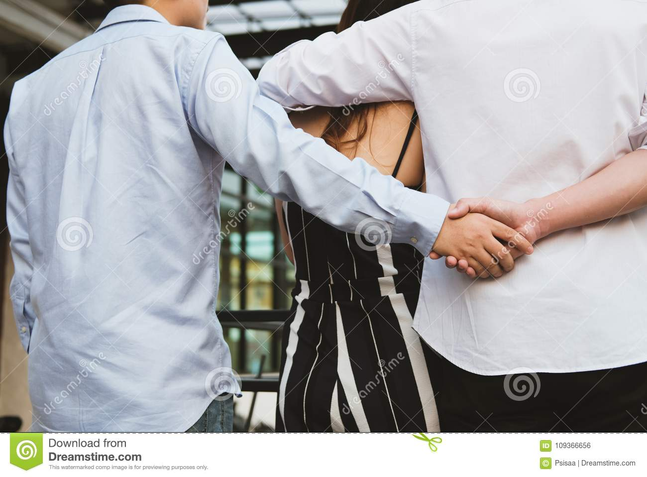 Is holding hands with another guy cheating