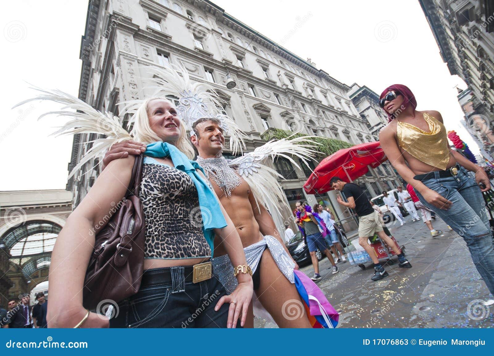 Homosexueller Stolz Mailand 12. Juni 2010