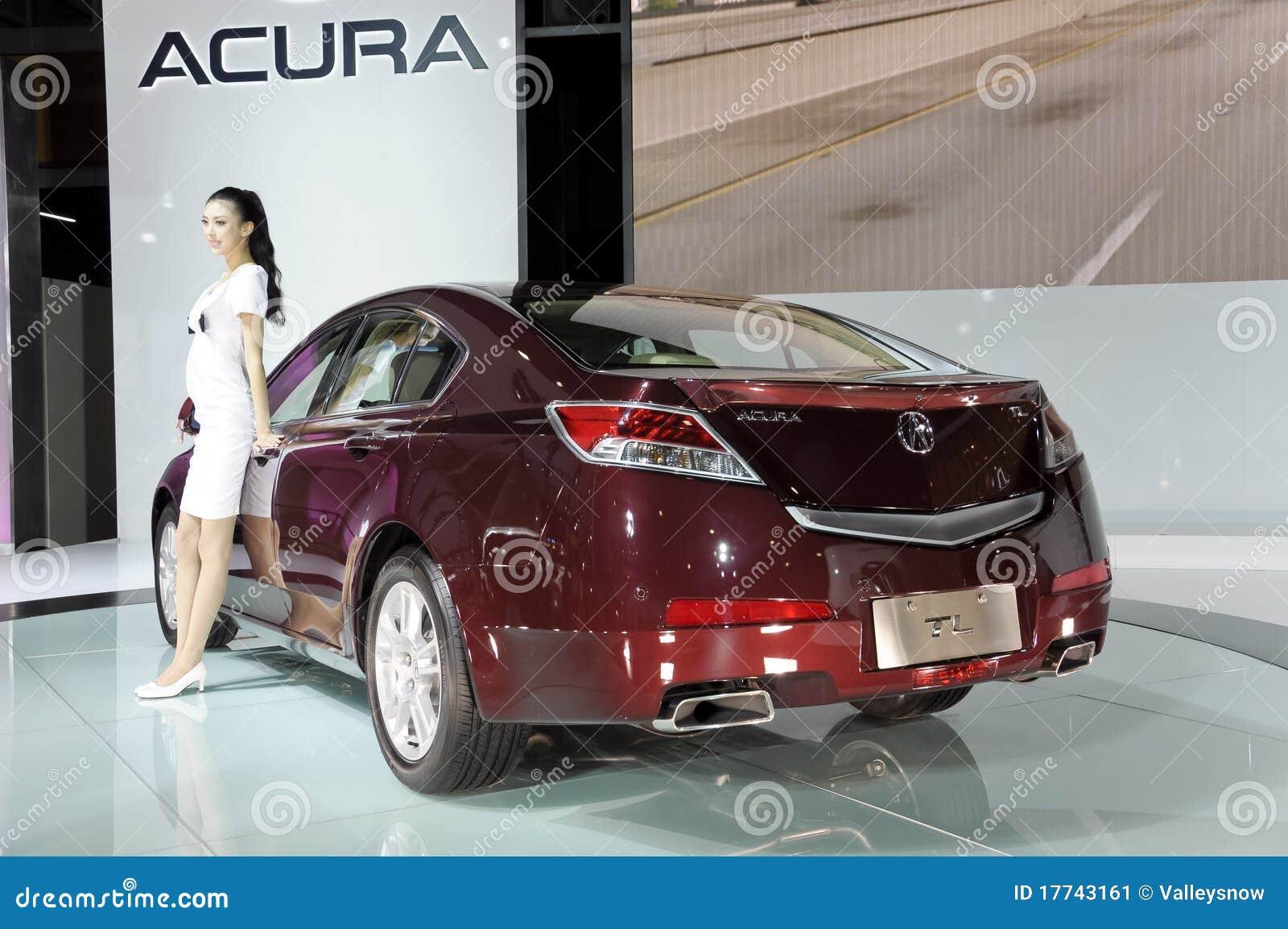 Honda Acura Tl Foto Editorial Imagen De Acura Honda 17743161