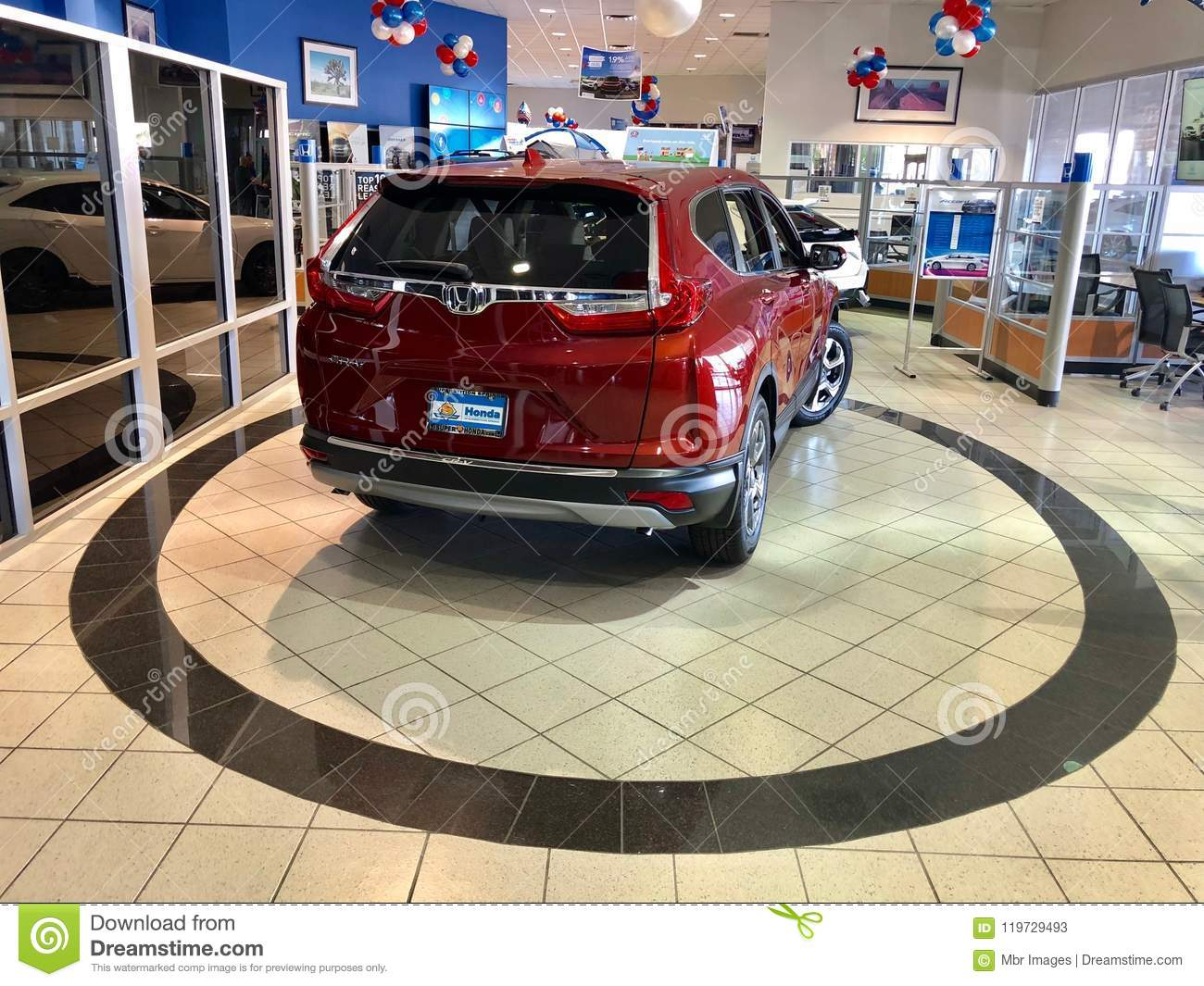 Honda Dealership Az >> Honda Car Dealership Editorial Stock Photo Image Of Booth