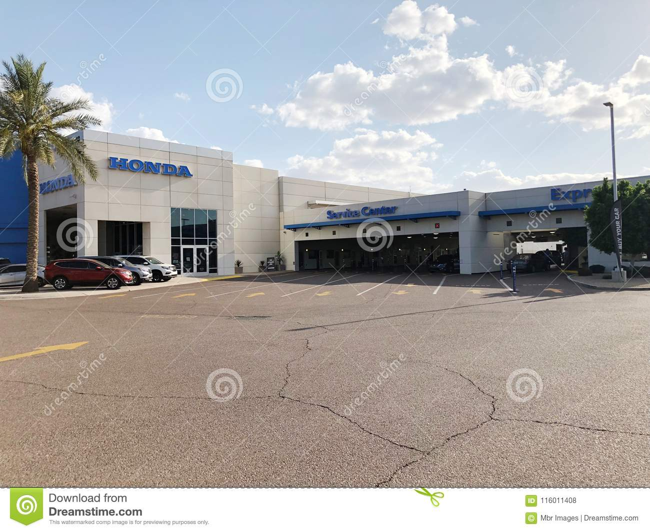 Honda Dealership Az >> Honda Car Dealership Editorial Stock Photo Image Of Automotive