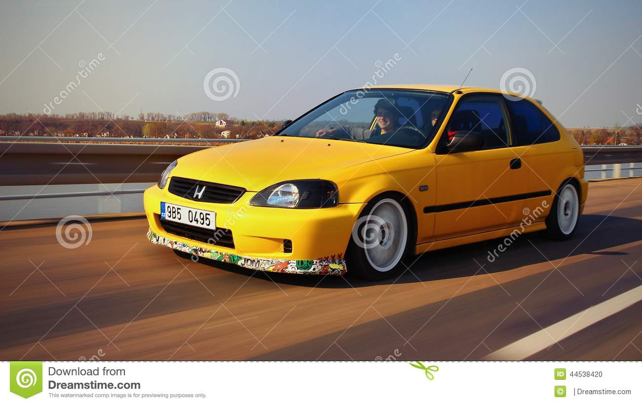Honda Civic EJ9 Editorial Image - Image: 44538420