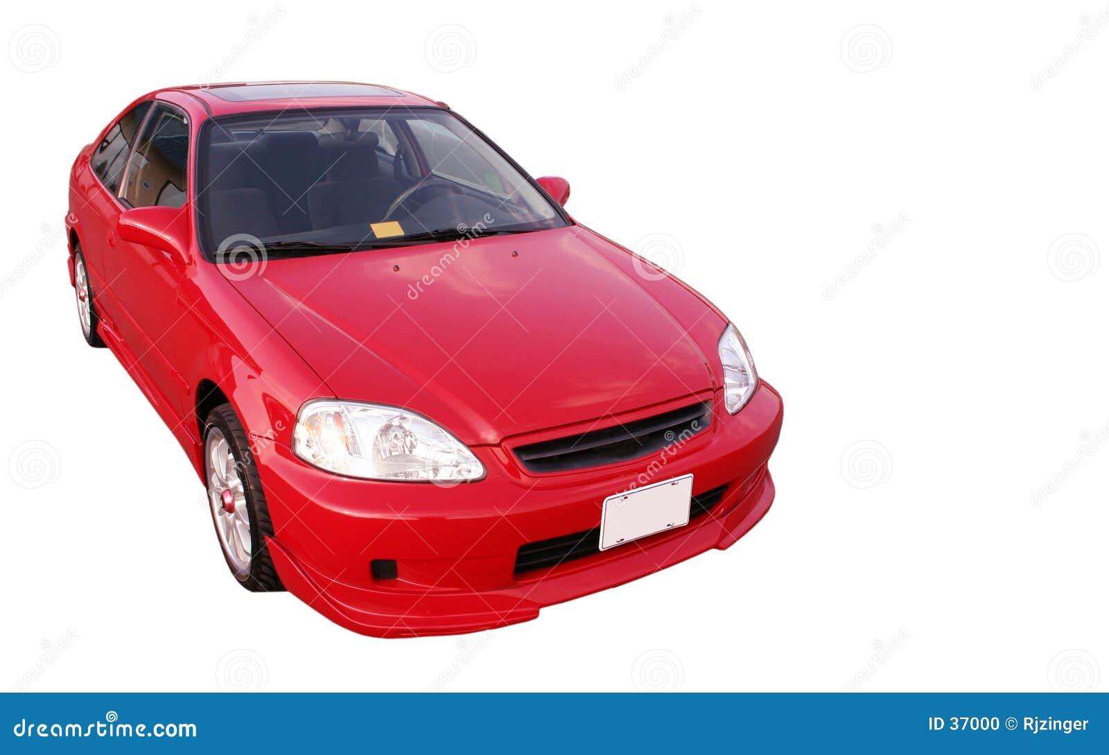 Honda Civic EX - rojo 2