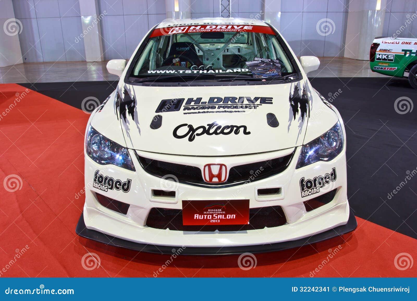 Honda Civic Show At The Second Bangkok International Auto