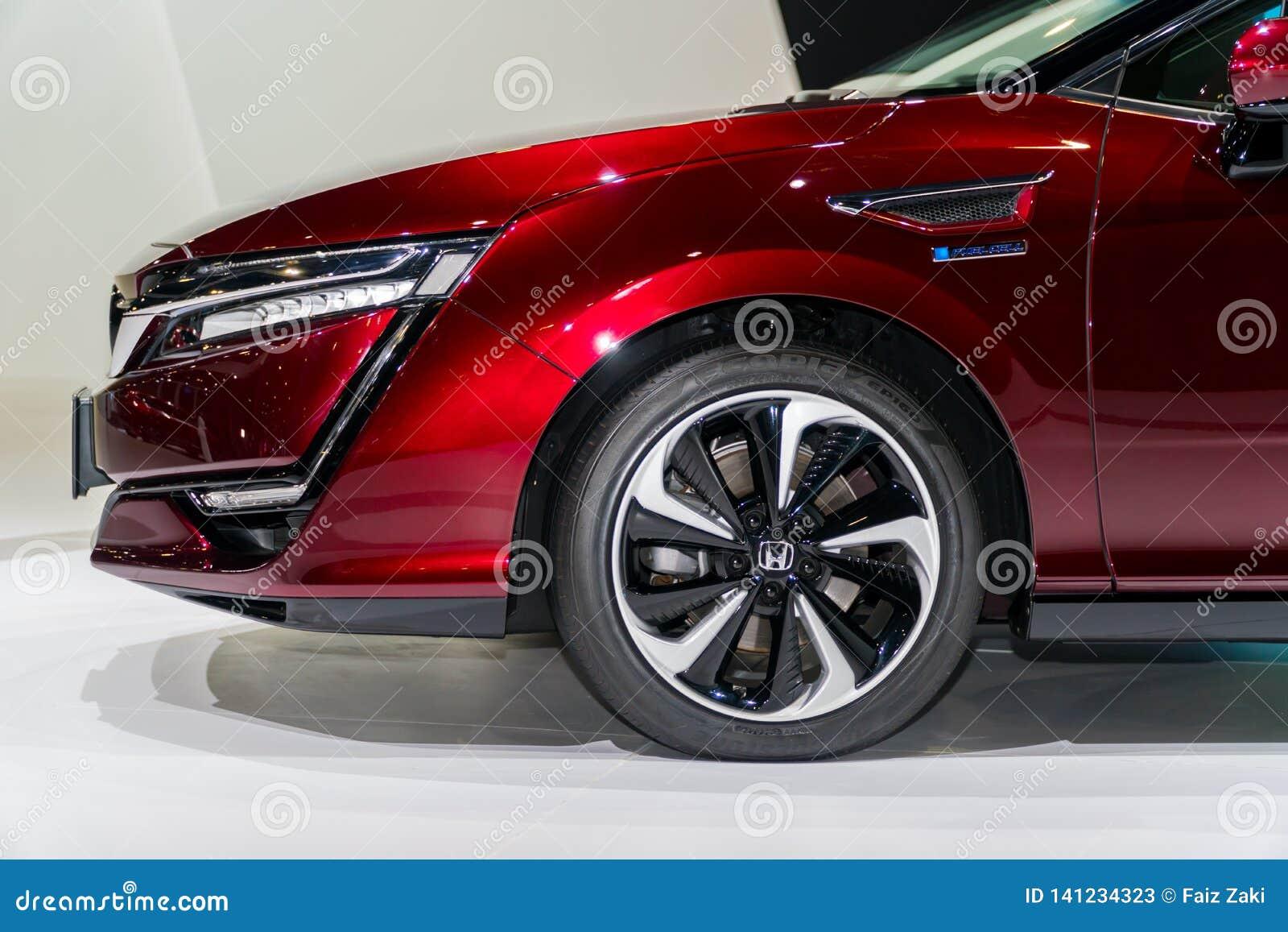 Honda-Duidelijkheid Fuel Cell in Kuala Lumpur Motor Show