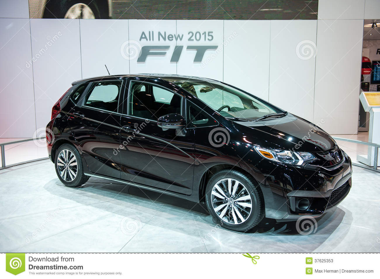 Honda Fit At The Chicago Auto Show Editorial Stock Photo Image Of