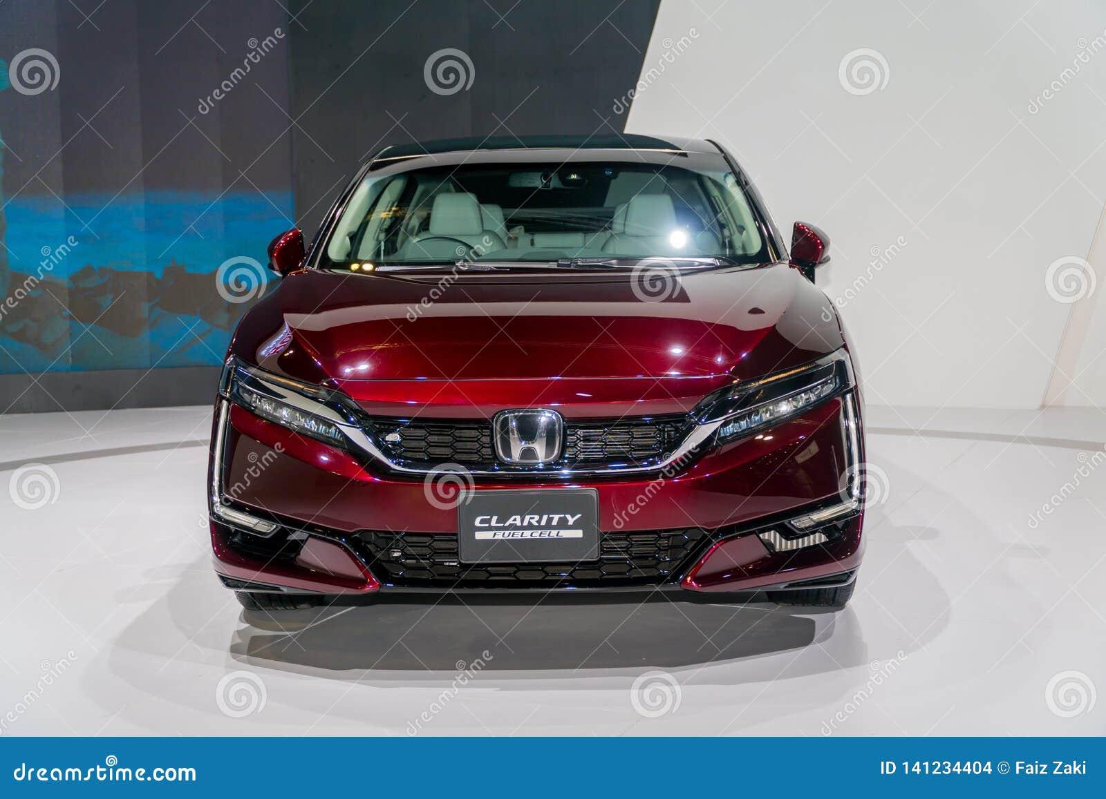 Honda klarowność Fuel Cell przy Kuala Lumpur Motorowym przedstawieniem