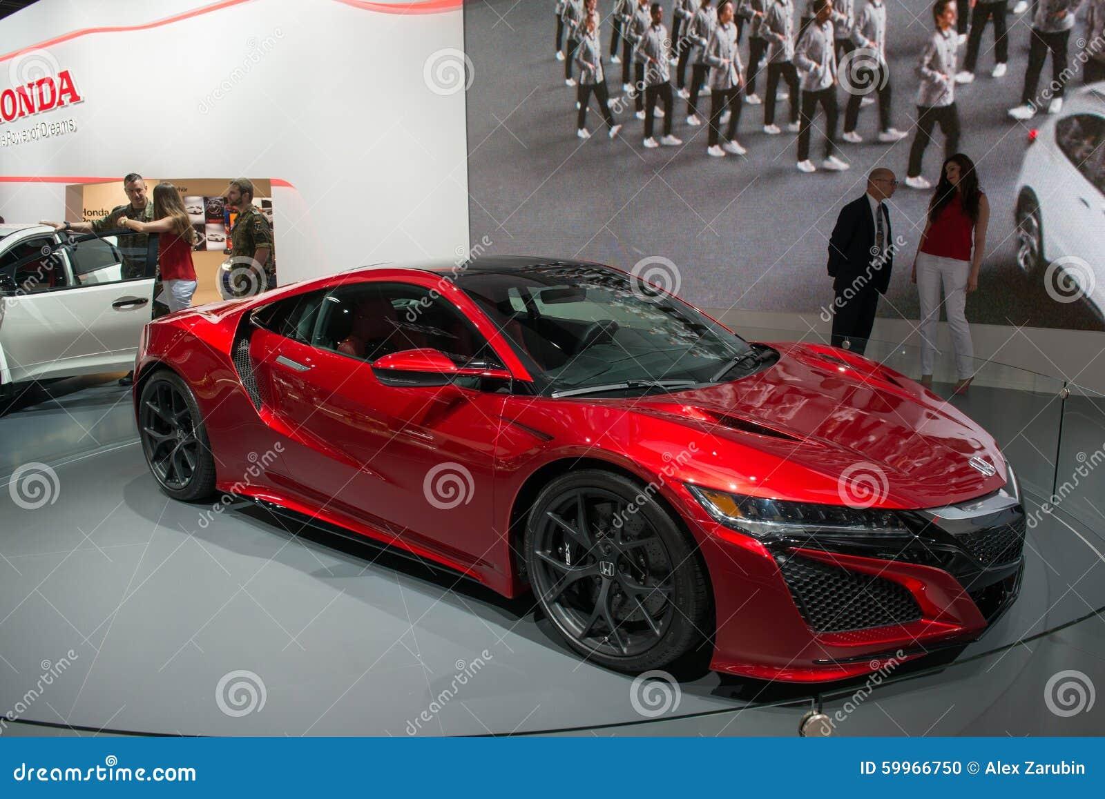 Honda Nsx Concept Editorial Image Image Of Closeup Salon 59966750