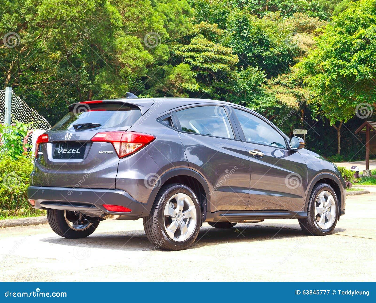 Honda Vezel 2015 Test Drive Day Editorial Photography ...