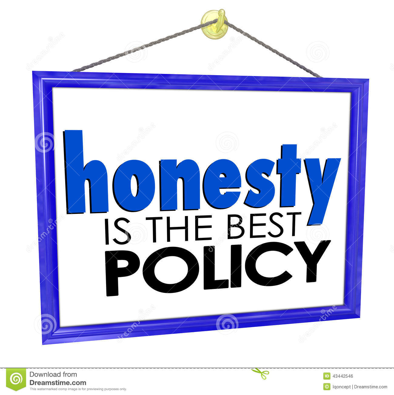 Honesty Quotes Images Download: Honesty Is The Best Policy Store Business Company Sign