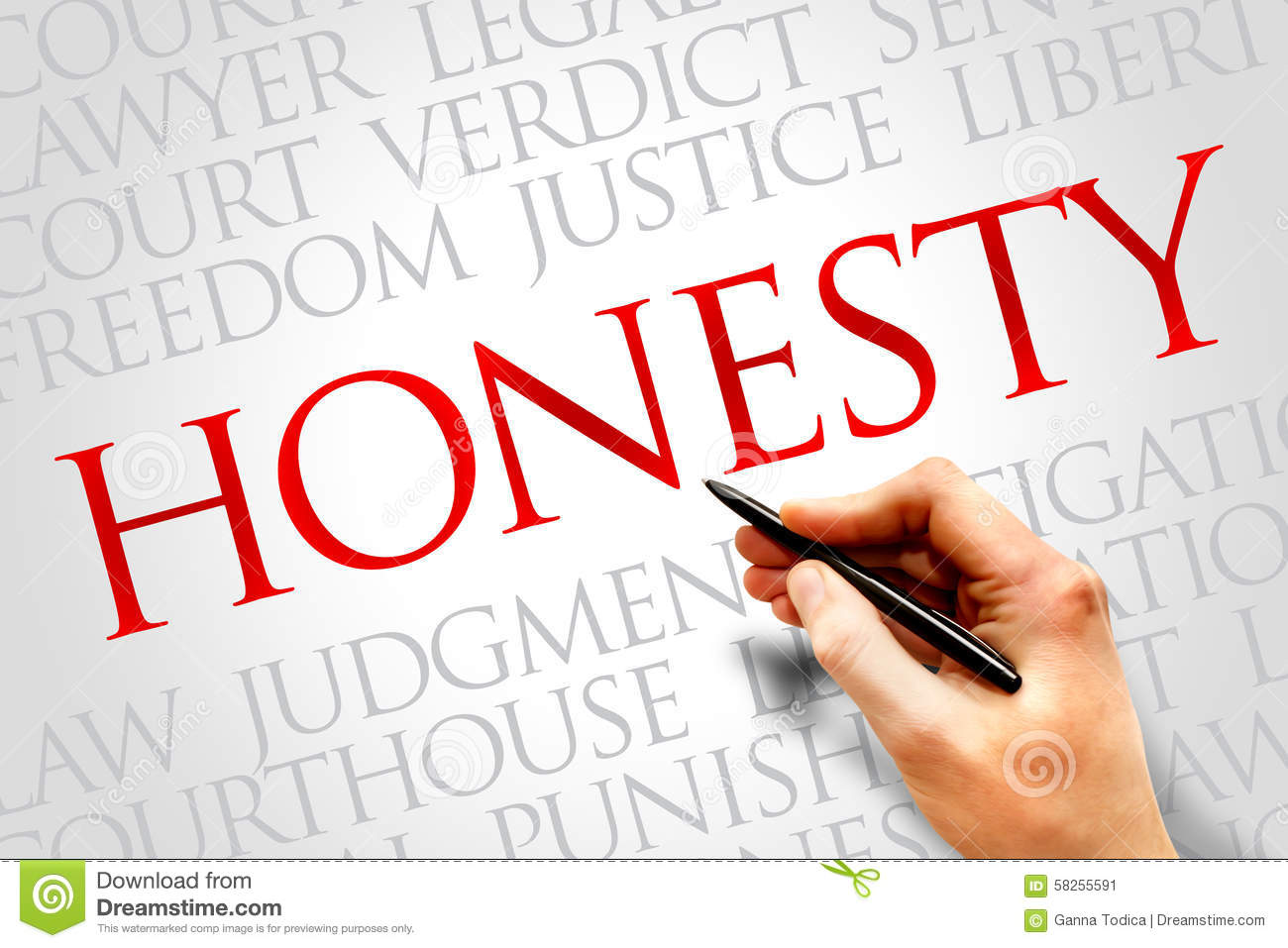 the concept of honesty Honesty is a key characteristic of a business because it sets the tone for the kind  of work culture that you want to create, provides consistency in.