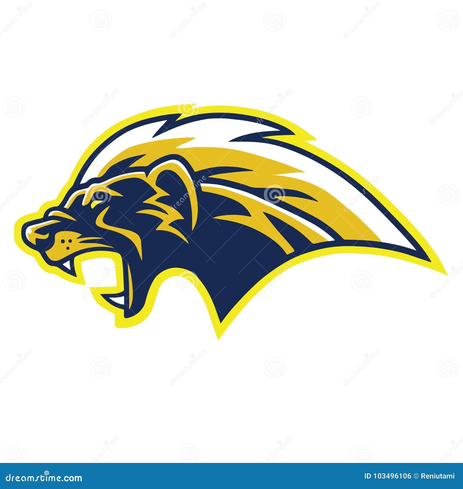 Honey Badger Logo Mascot Cartoon vektor
