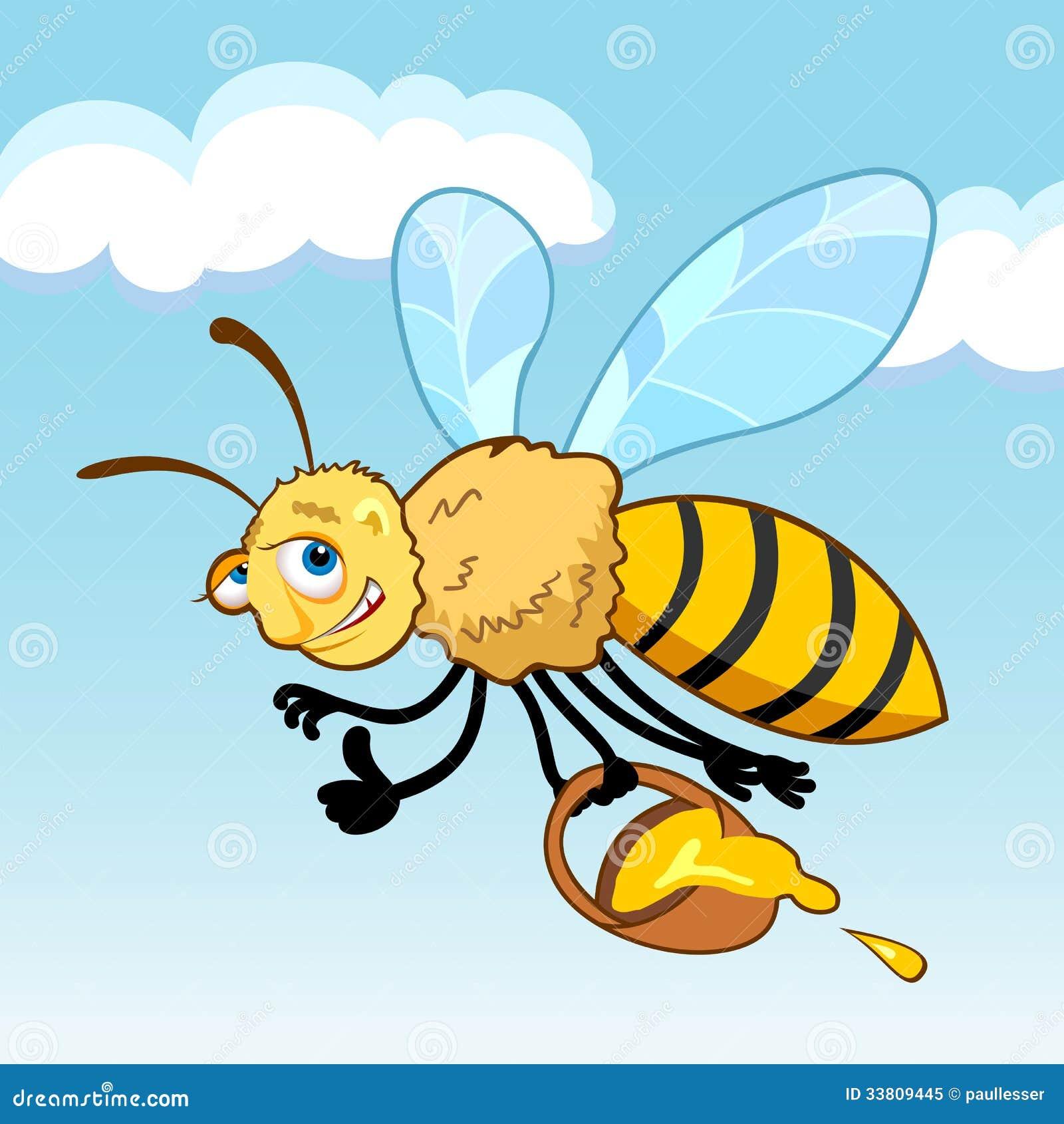 Cartoon bees flying - photo#9