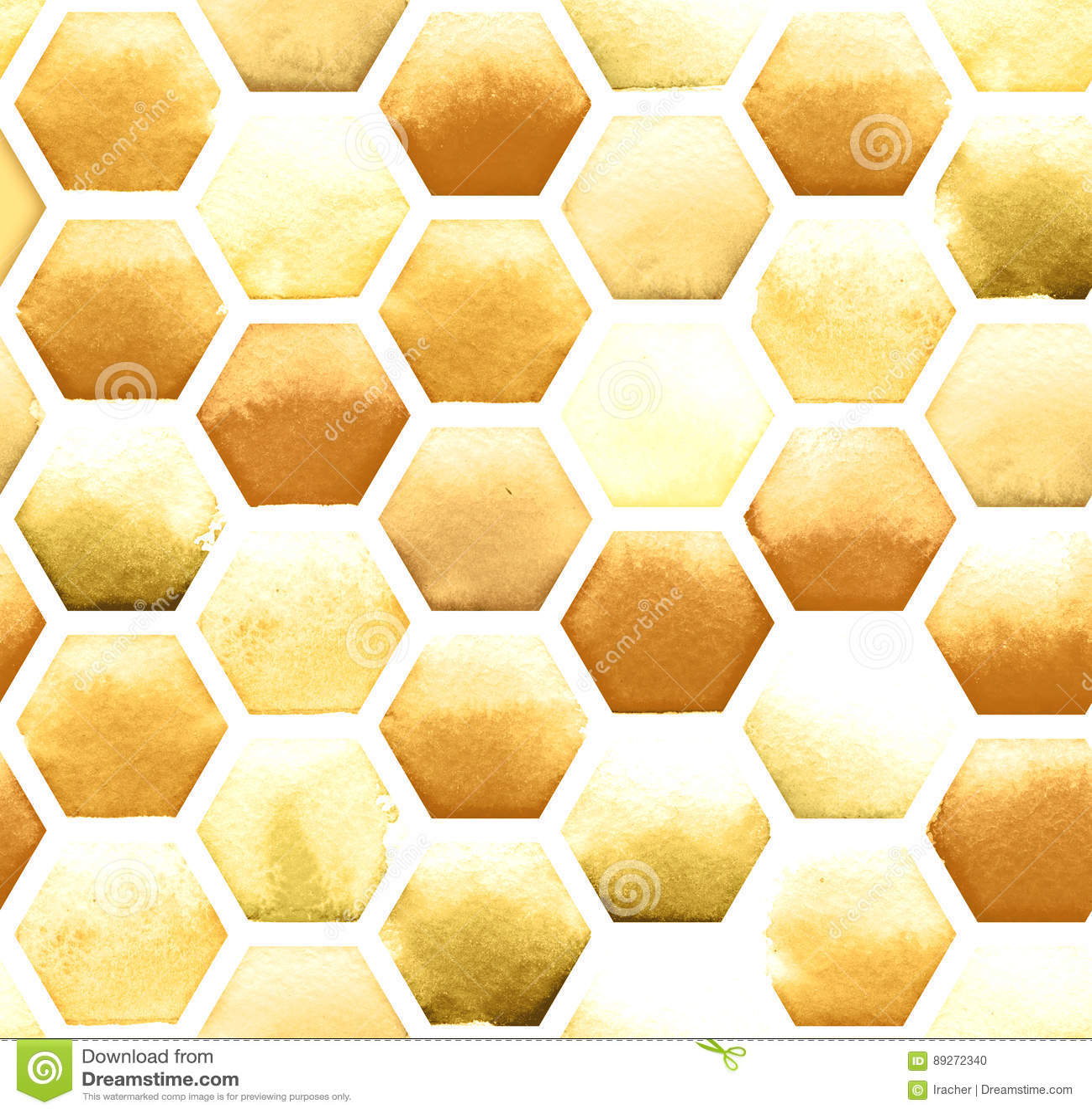 bee honeycomb pattern stock vector image 47278105