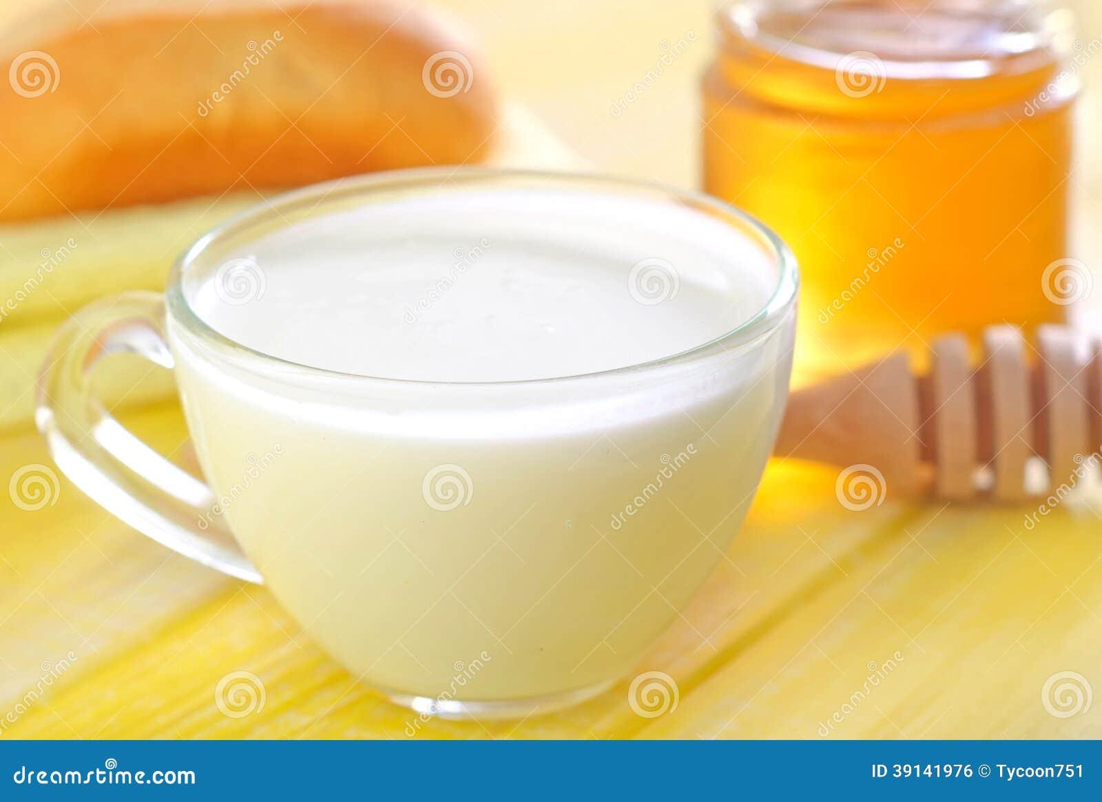 Как сделать тёплое молоко с маслом
