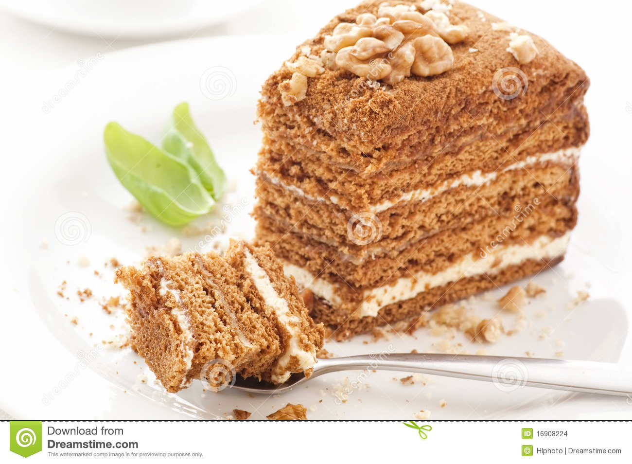 Honey Cake Stock Images - Image: 16908224
