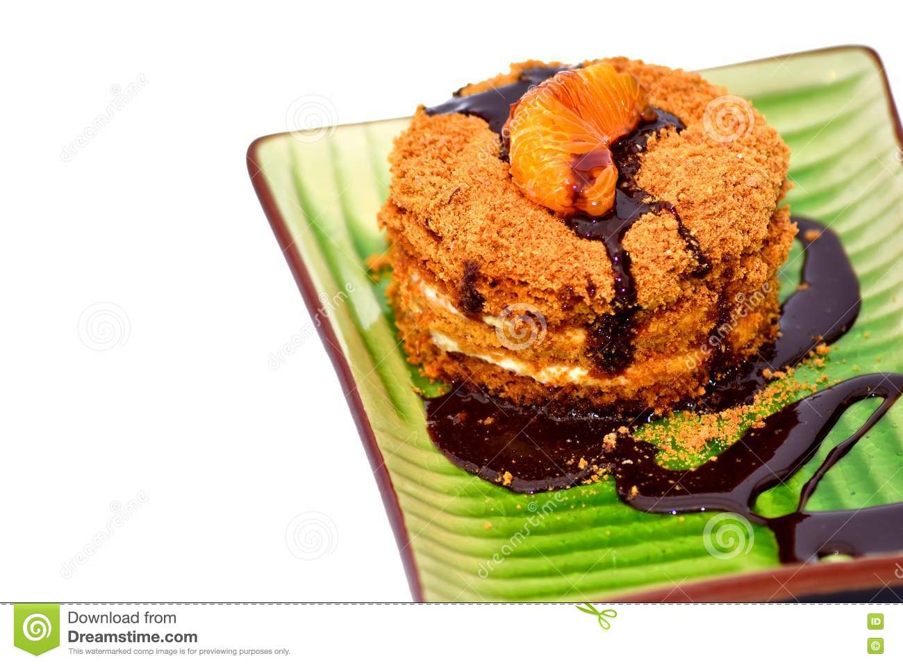 Clipart Of Honey Cake : Honey Cake Royalty Free Stock Photo - Image: 22481525