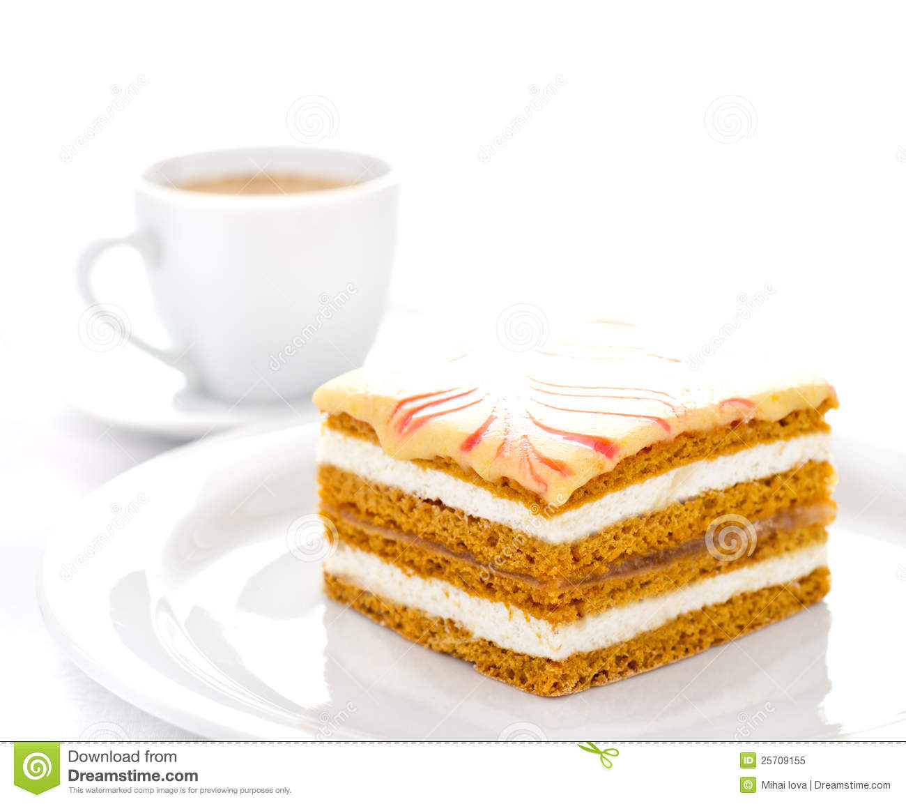 Clipart Of Honey Cake : Honey Cake Royalty Free Stock Photo - Image: 25709155