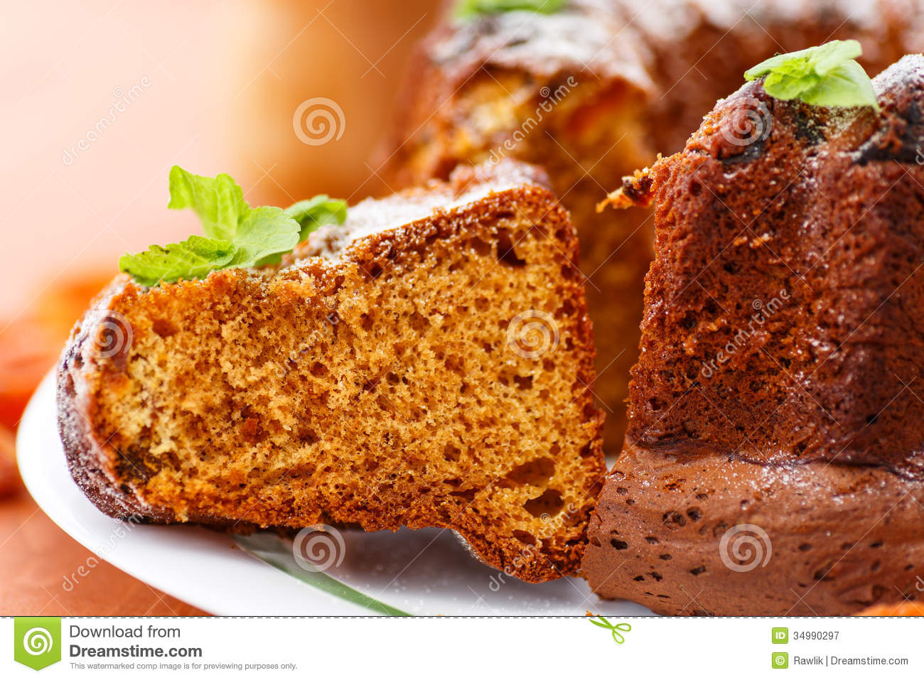 Clipart Of Honey Cake : Honey Cake Royalty Free Stock Photography - Image: 34990297