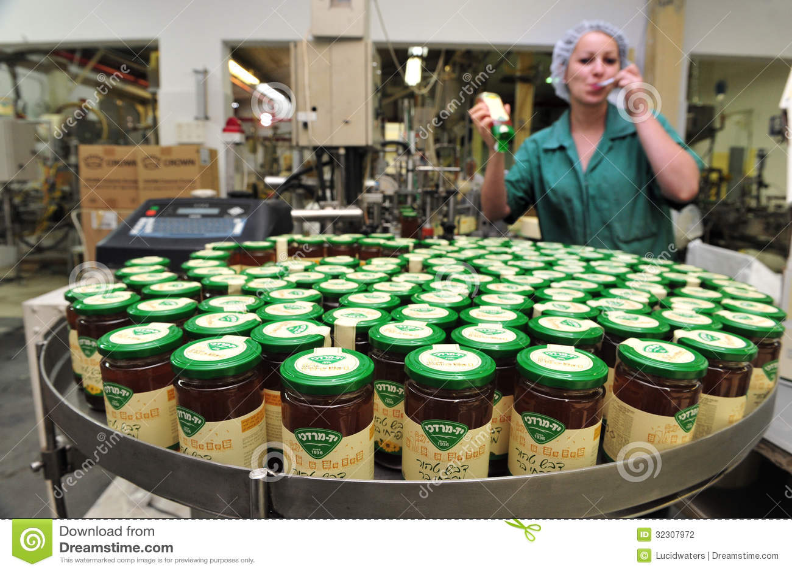 YAD MORDECHAI, ISR - SEP 07:Honey jars for Rosh Hashanah Jewish ...