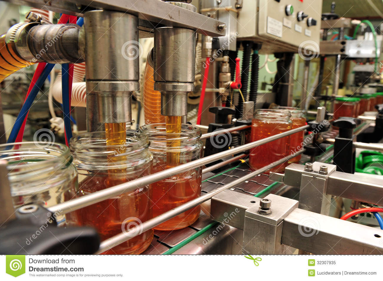 Honey Factory Production Line Editorial Image Image