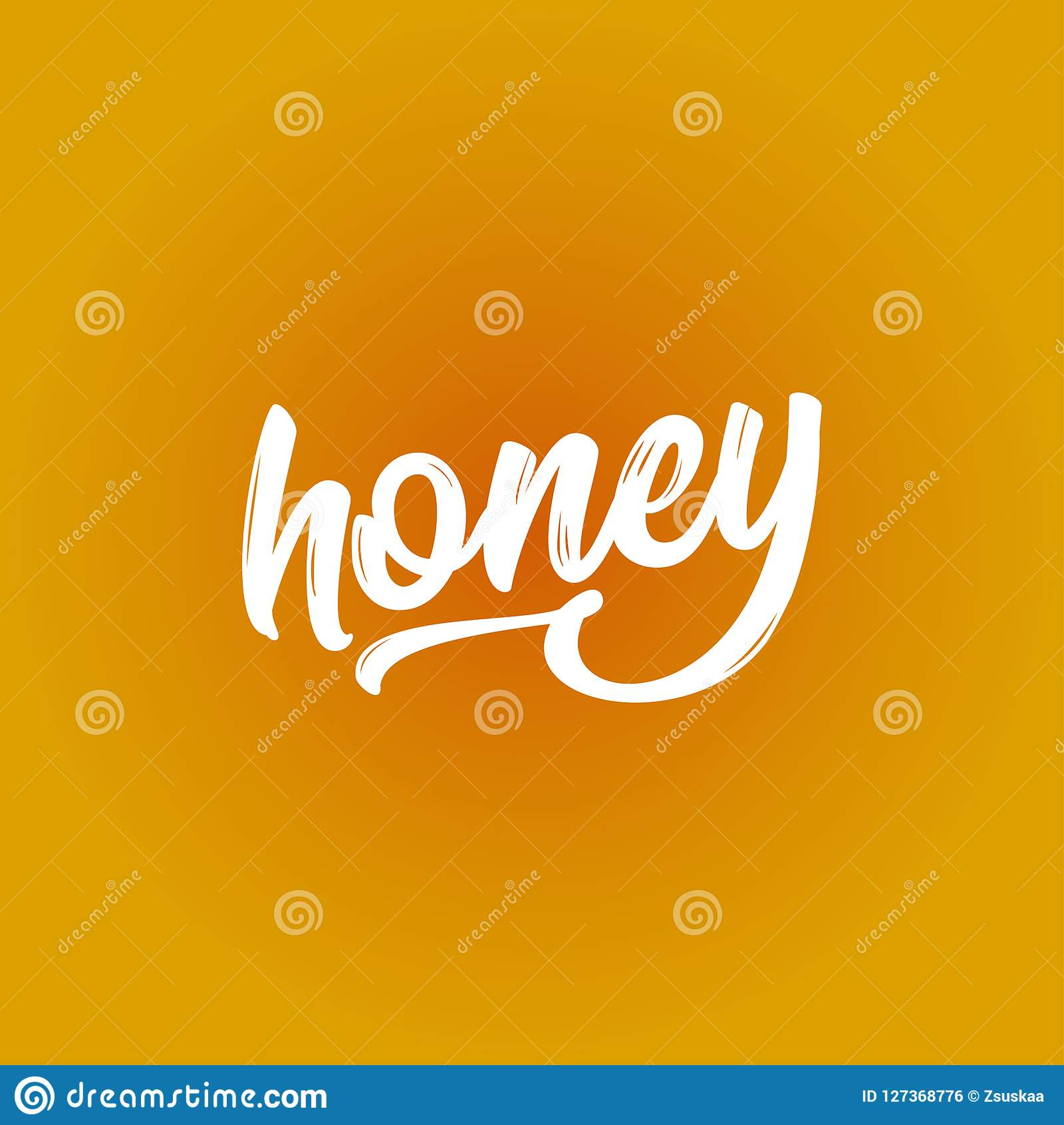 Honey Funny Vector Text Quotes Stock Vector Illustration Of