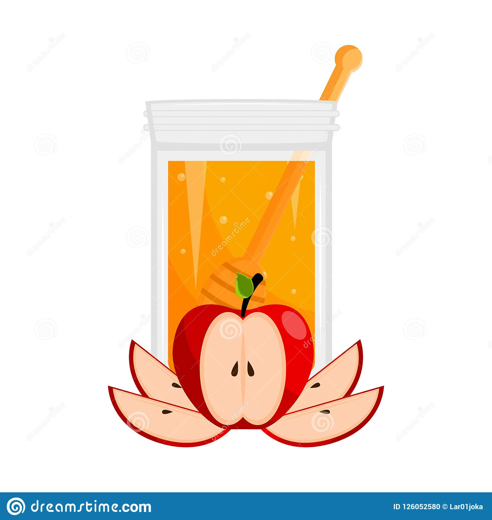 Rosh hashanah vector illustration design