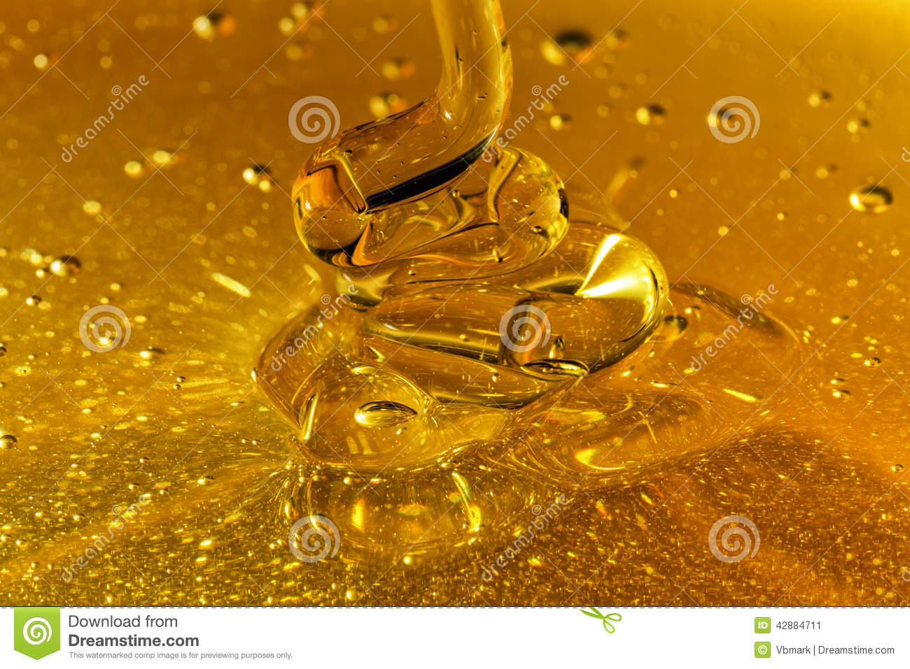 Honey Pouring Waves