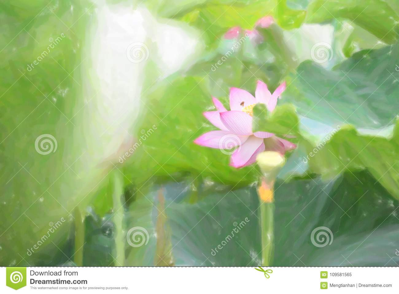 Honeybee collecting nectar red lotus flower is gorgeous stock download honeybee collecting nectar red lotus flower is gorgeous stock illustration illustration of bees izmirmasajfo