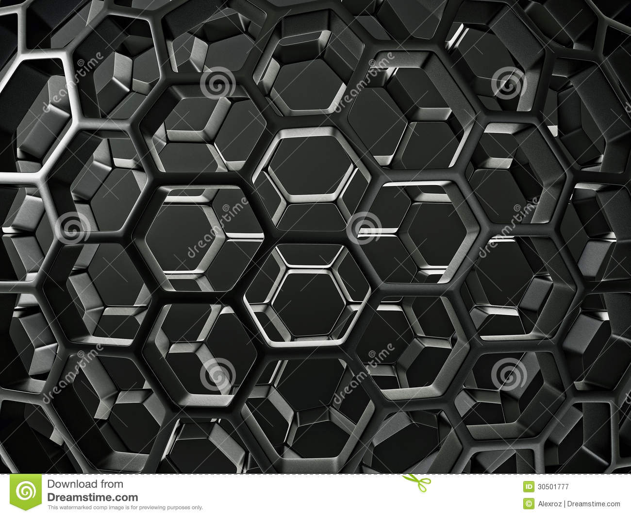 abstract honeycomb composition royalty - photo #15