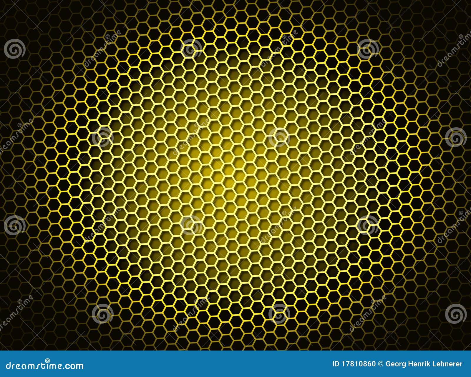 Yellow honeycom...