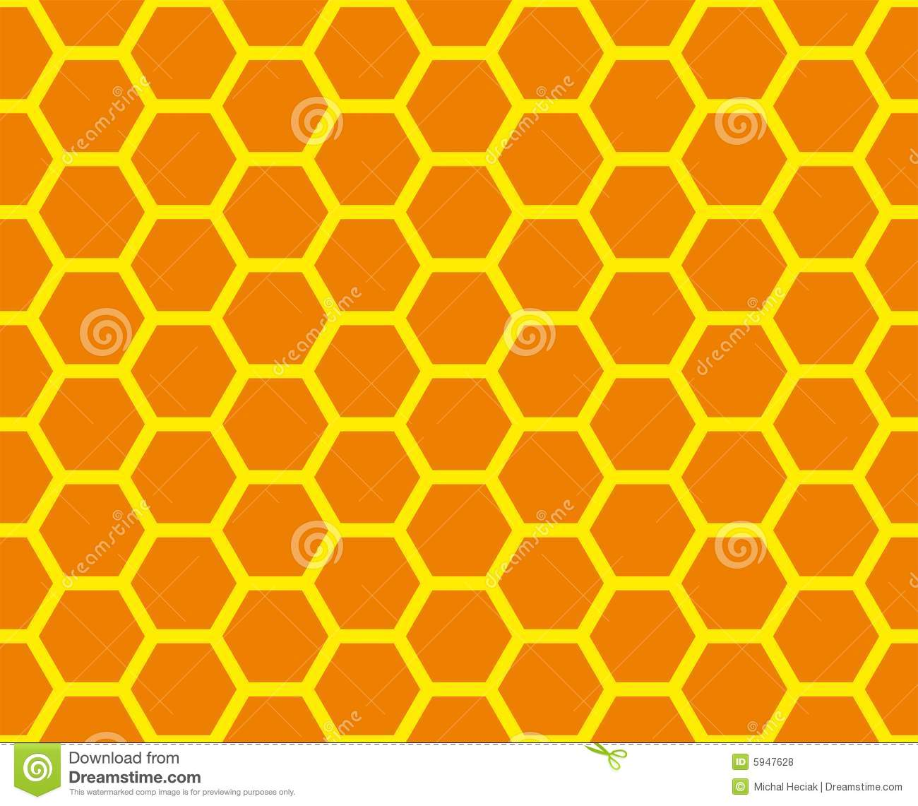 Yellow honey background with hexagonal pattern vector free download - Honeycomb Grid Royalty Free Stock Photos Image 5947628