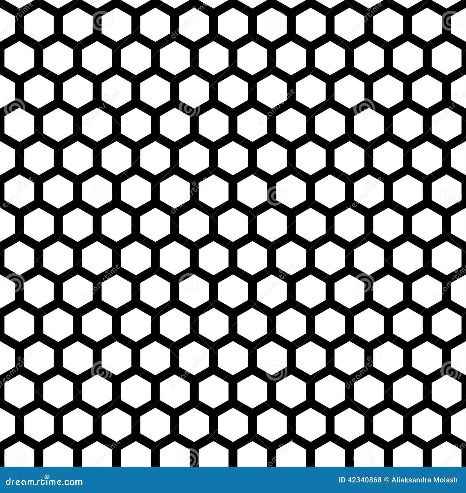 Honeycomb Seamless Pattern Stock Vector - Image: 42340868